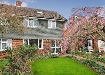 Thumbnail 4 bedroom semi-detached house for sale in Webster Close, Oxshott, Surrey
