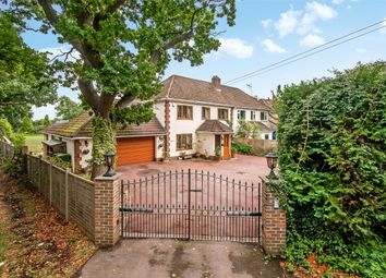 Thumbnail 4 bed semi-detached house for sale in Longmeadow Villas, Ifield Road, Charlwood, Horley