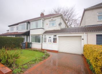 Thumbnail 3 bed property for sale in Whitecroft Road, West Moor, Newcastle Upon Tyne