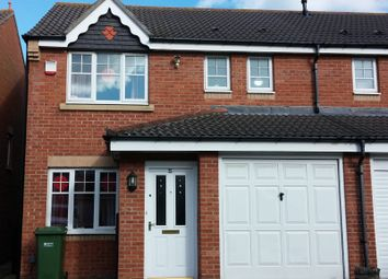 Thumbnail 3 bed semi-detached house to rent in Renforth Close, Gateshead, Tyne And Wear.
