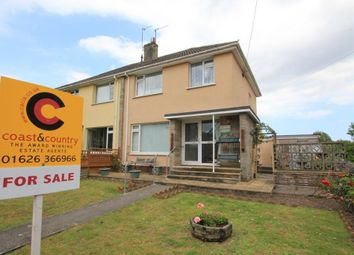 Thumbnail 3 bedroom semi-detached house for sale in Gestridge Road, Kingsteignton, Newton Abbot