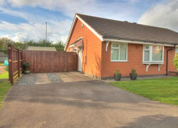 Thumbnail 2 bed bungalow for sale in Marywell Close, Hinckley