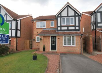 Thumbnail 4 bed detached house for sale in Falstone Drive, Chester Le Street