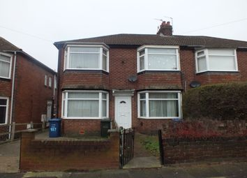Thumbnail 4 bed flat for sale in Ovington Grove, Fenham, Newcastle Upon Tyne