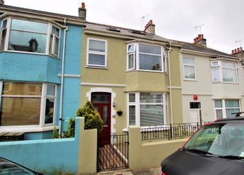 Thumbnail 4 bed terraced house for sale in Torr View Avenue, Peverell, Plymouth, Devon