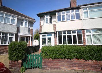 Thumbnail 3 bed semi-detached house for sale in Moss Grove, Birkenhead, Merseyside