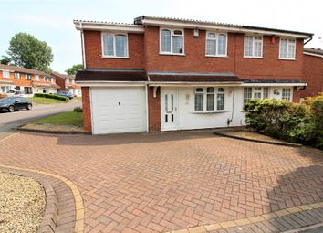 Thumbnail 3 bedroom semi-detached house for sale in Gurnard Close, Willenhall