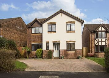 Thumbnail 4 bedroom detached house for sale in The Meadows, Marshfield, Cardiff