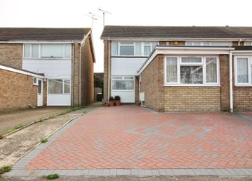 Thumbnail 4 bed semi-detached house for sale in Towncroft, Broomfield, Chelmsford