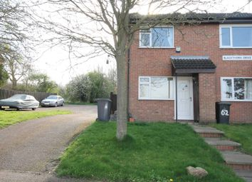 Thumbnail 2 bed end terrace house for sale in Blackthorn Drive, Leicester