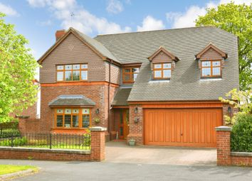 Thumbnail 4 bed detached house for sale in Rhodes Drive, Harrogate