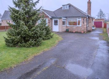 Thumbnail 3 bed detached bungalow for sale in Cemetery Road, Hatfield, Doncaster, South Yorkshire