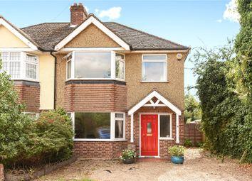 Thumbnail 3 bed semi-detached house for sale in Denham Way, Denham, Buckinghamshire