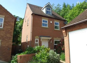 Thumbnail 4 bed detached house for sale in Colling Close, Loughborough, Leicestershire