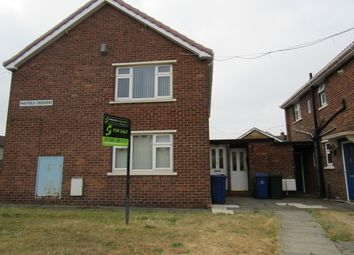 Thumbnail 2 bed flat for sale in Mayfield Crescent, Rossington