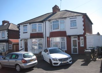 Thumbnail 3 bed semi-detached house to rent in Hugh Road, Smethwick Birmingham