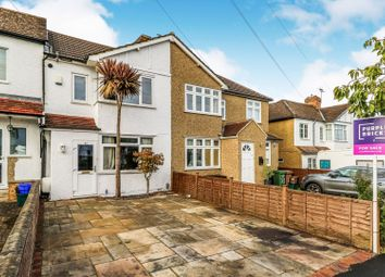 Thumbnail 3 bed terraced house for sale in Charminster Road, Worcester Park