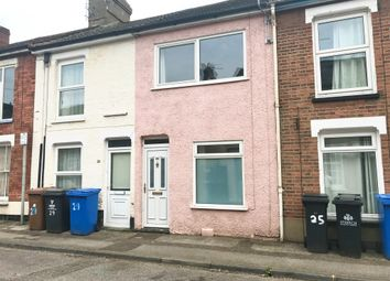 Thumbnail 2 bed terraced house for sale in Norfolk Road, Ipswich