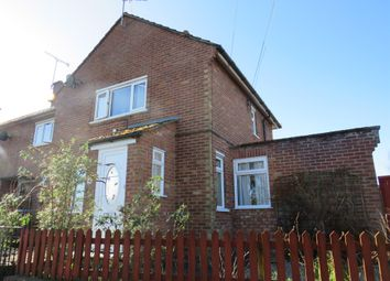 Thumbnail 2 bed semi-detached house for sale in Spring Lane, Wickham Market, Woodbridge