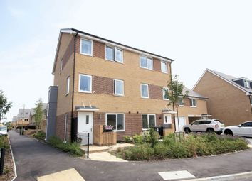 Thumbnail 4 bed town house for sale in Falcon Meadows Way, Gosport