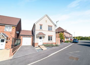 Thumbnail 3 bed detached house for sale in Tapestry Road, Andover