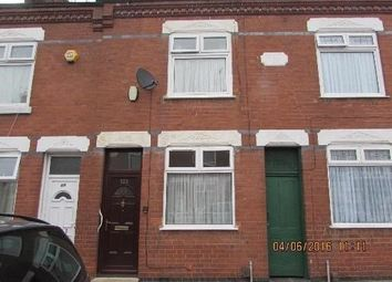 Thumbnail 2 bed terraced house to rent in Halkin Street, Leicester