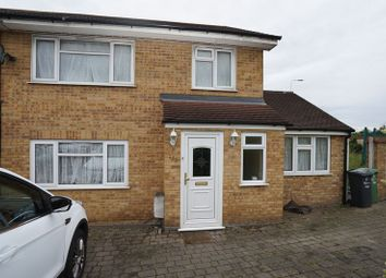 Thumbnail 4 bed end terrace house to rent in Rose Lane, Chadwell Heath, Romford