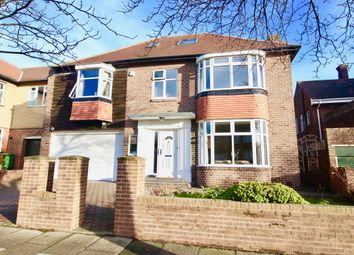 Thumbnail 5 bed detached house for sale in Wingrove Road North, Newcastle Upon Tyne