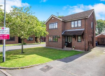Thumbnail 4 bed detached house for sale in Hollin Close, Rossington, Doncaster