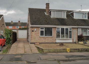 Thumbnail 3 bed semi-detached bungalow for sale in Penzanze Avenue, Little Hill, Wigston