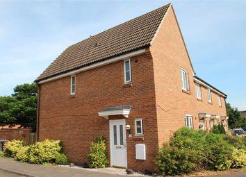 Thumbnail 3 bedroom end terrace house for sale in Walker Chase, Grange Farm, Kesgrave, Ipswich