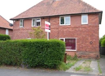 Thumbnail 3 bed semi-detached house for sale in Baslow Drive, Lenrton Abbey, Nottingham, Nottinghamshire