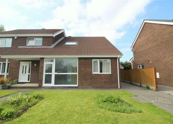 Thumbnail 3 bed semi-detached house for sale in Churchfield, Fulwood, Preston