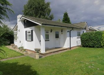 Thumbnail 2 bed mobile/park home for sale in Sunrise Avenue, Killarney Park, Nottingham