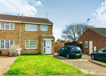 Thumbnail 3 bedroom semi-detached house for sale in Braziers Wood Road, Ipswich