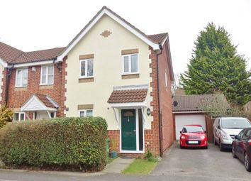Thumbnail 3 bedroom end terrace house for sale in Barrow Down Gardens, Southampton