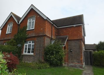 Thumbnail 3 bed semi-detached house to rent in Gote Lane, Ringmer