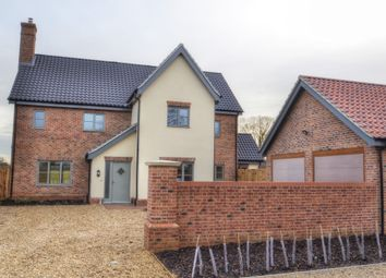 Thumbnail 5 bed detached house for sale in Cookes Road, Bergh Apton, Norwich
