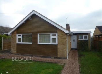 Thumbnail 3 bedroom bungalow to rent in Gorse Lane, Oadby, Leicester