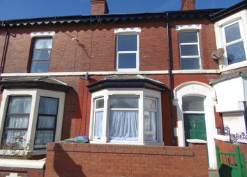 Thumbnail 4 bed terraced house to rent in Lytham Road, Blackpool