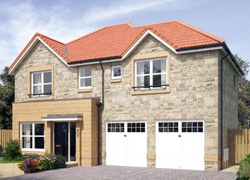"Thumbnail 4 bed detached house for sale in ""The Westbury"" at Cairneyhill, Dunfermline"