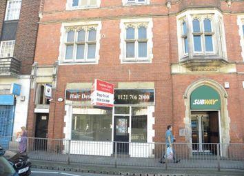 Thumbnail 1 bed flat for sale in Warwick Road, Acocks Green, Birmingham