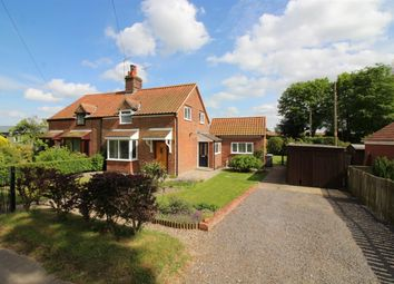 Thumbnail 3 bedroom cottage for sale in School Road, Buckenham, Norwich