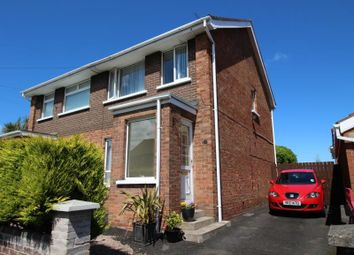 Thumbnail 3 bed semi-detached house for sale in Castleburn Road, Carrickfergus