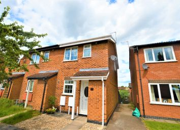 Thumbnail 2 bed semi-detached house to rent in Mablowe Fields, Wigston, Leicester