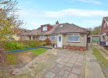 Thumbnail 3 bed semi-detached bungalow for sale in Boundary Road, Lancing, West Sussex