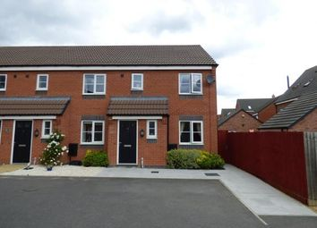 Thumbnail 3 bed end terrace house for sale in Pasture Drive, Birstall, Leicester, Leicestershire