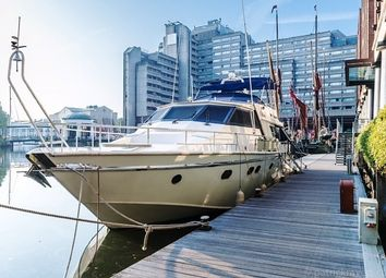 Thumbnail 3 bedroom houseboat for sale in St Katharine Docks, London