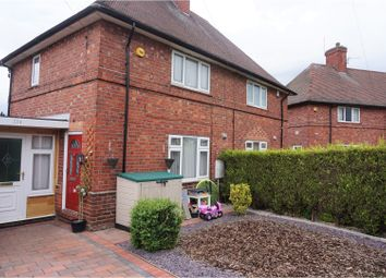Thumbnail 2 bedroom semi-detached house for sale in Ravensworth Road, Nottingham