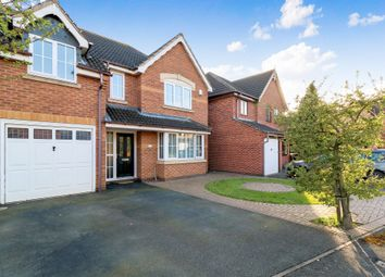 Thumbnail 4 bed detached house for sale in Trillium Close, Hamilton, Leicester